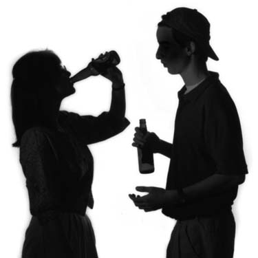 Young athletes use fewer drugs, but more alcohol