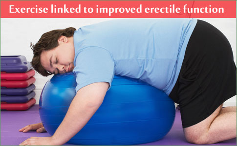 Exercise linked to improved erectile and sexual function in men