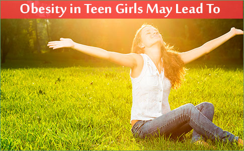 Obesity in Teen Girls May Lead To Depressive Symptoms