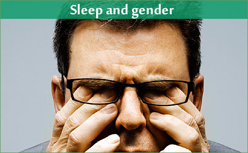 Sleep and gender